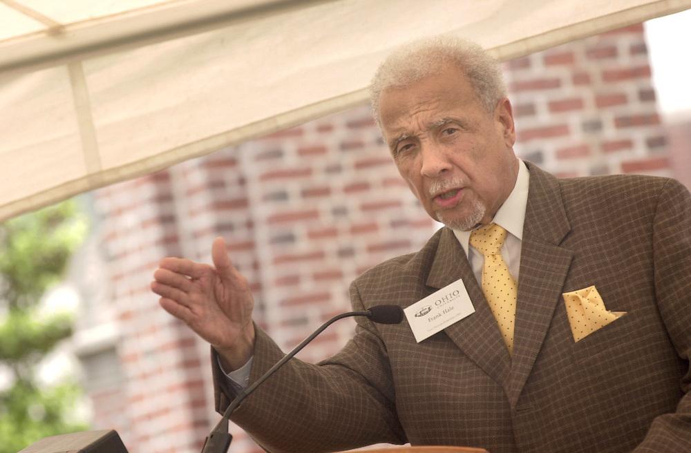 16485  Berry Alumni Gate Historical Marker Dedication...Dr. Frank W. Hale Jr.