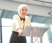Sadiq Khan, Mayor launches a search for the first ever London Borough of Culture at a ceremony at City Hall, London, Great Britain <br /> 30th June 2017 <br /> <br /> <br /> Justine Simons OBE, Deputy Mayor for Culture and the Creative Industries <br /> <br /> <br /> <br /> <br /> <br /> Photograph by Elliott Franks <br /> Image licensed to Elliott Franks Photography Services