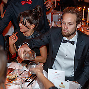 NLD/Amsterdam/20181121 - Premiere Palazzo 2018, Candy-Ray Fleur en partner Daley Blind
