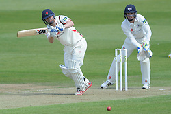 Karl Brown of Lancashire bats - Photo mandatory by-line: Dougie Allward/JMP - Mobile: 07966 386802 - 07/06/2015 - SPORT - Football - Bristol - County Ground - Gloucestershire Cricket v Lancashire Cricket - LV= County Championship