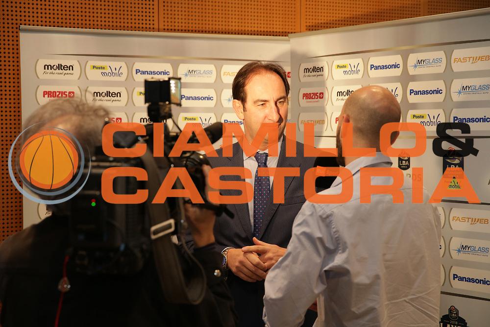 Casarin<br /> LBA ARWARD 2018<br /> Legabasket serie A 2017/2018<br /> Milano 09/05/2018<br /> Foto Ciamillo-Castoria