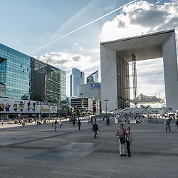 Paris la Défense, modern cistyscape