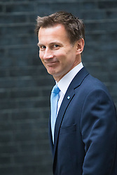 Downing Street, London, July 5th 2016. Health Secretary Jeremy Hunt arrives at 10 Downing Street for the weekly cabinet meeting