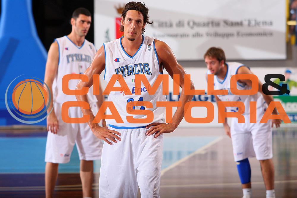 DESCRIZIONE : Cagliari Qualificazione Eurobasket 2009 Serbia Italia <br /> GIOCATORE : Alessandro Cittadini <br /> SQUADRA : Nazionale Italia Uomini <br /> EVENTO : Raduno Collegiale Nazionale Maschile <br /> GARA : Serbia Italia Serbia Italy <br /> DATA : 20/08/2008 <br /> CATEGORIA : Delusione <br /> SPORT : Pallacanestro <br /> AUTORE : Agenzia Ciamillo-Castoria/S.Silvestri <br /> Galleria : Fip Nazionali 2008 <br /> Fotonotizia : Cagliari Qualificazione Eurobasket 2009 Serbia Italia <br /> Predefinita :