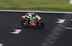 May 22, 2018 - Barcelona, Catalonia, Spain - Scott Redding (Aprilia) during the Moto GP test in the Barcelona Catalunya Circuit, on 22th May 2018 in Barcelona, Spain. (Credit Image: © Joan Valls/NurPhoto via ZUMA Press)