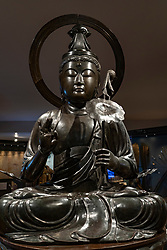 Figure of Mercy ( Sho Kannon) at the new East Asia Gallery at the National Museum of Scotland in Edinburgh.