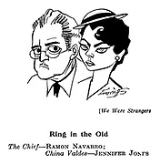 We Were Strangers ; Ramon Navarro and Jennifer Jones
