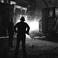 Melting shop British Steel Templeborough.