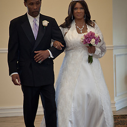 The wedding of David Young and Linda Frazier