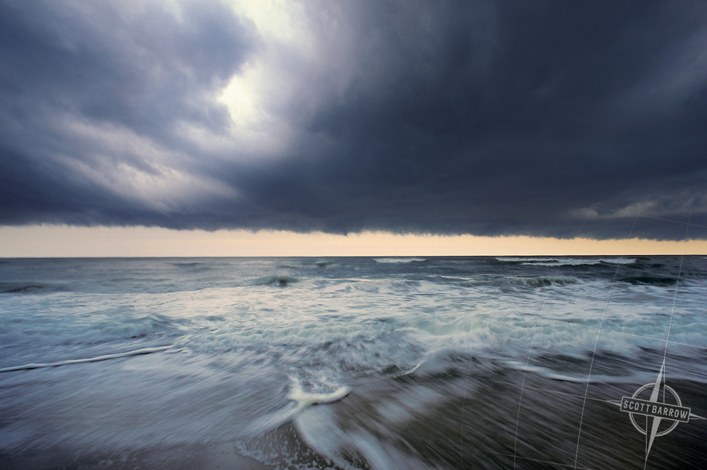 Storm over Ocean, Stratocumulus Clouds