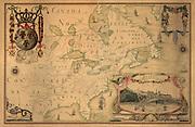 1688 French map of North America with inset detail of Quebec.. Carte de l'Amerique Septentrionnale : depuis le 25, jusqu'au 650 deg. de latt. & environ 140, & 235 deg. de longitude / par Iean Baptiste Louis Franquelin, hydrographe du roy, à Québec en Canada...Franquelin, Jean Baptiste Louis...1688 ms. in the Archives du dépôt des cartes et plans de la marine.