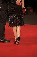 Actress Odessa Young at the gala screening for the film Equals at the 72nd Venice Film Festival, Saturday September 5th 2015, Venice Lido, Italy.