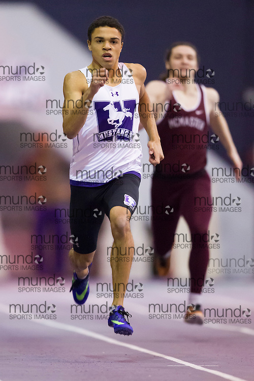 The Western Mustangs compete at the 2017 Don Wright meet in London, Ontario, January 21, 2017.<br /> GEOFF ROBINS Mundo Sport Images