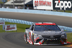 August 5, 2018 - Watkins Glen, New York, United States of America - Erik Jones (20) brings his car through the turns during the Go Bowling at The Glen at Watkins Glen International in Watkins Glen , New York. (Credit Image: © Chris Owens Asp Inc/ASP via ZUMA Wire)