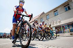 Matej Mugerli (SLO) of Adria Mobil during 4th Stage Brezice - Novo Mesto (155,8 km) at 20th Tour de Slovenie 2013, on June 16, 2013, in Brezice, Slovenia. (Photo by Urban Urbanc / Sportida.com)