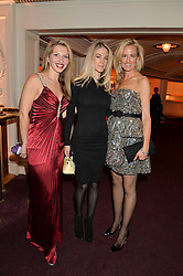 Left to right, LILIJA SITNIKA, PENNY BEER and HOLLY DUNLAP at The Backstage Gala hosted by Diana Vishneva , Principal Dancer of the Mariinsky and American Ballet Theatre, and Natalia Vodianova in aid of The Naked Heart Foundation held at The London Coliseum, St.Martin's Lane, London on 17th April 2015.