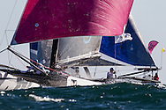 2nd March 2016. Fremantle, WA. World Match Racing Tour.