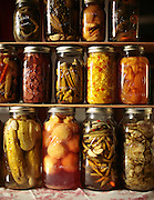 CHRIS GRANGER / THE TIMES-PICAYUNE.Wednesday June 25, 2008.Homegrown foods kept in jars for local restaurants.