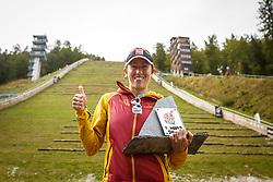 Winner of Red Bull 400 Valentina Belotti of Italy Red Bull 400 Planica, on 17th of September, 2016, in Nordic center Planica, Slovenia. Photo by Grega Valancic / Sportida