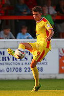 Tom Flanagan of Milton Keynes Dons during the Pre Season Friendly match at the London Borough of Barking and Dagenham Stadium, London<br /> Picture by David Horn/Focus Images Ltd +44 7545 970036<br /> 22/07/2014
