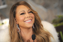 61065609<br /> Mariah Carey starts the 20 Valentines  day weddings Event in The Empire State Building, New York, US, Thursday, 13th February 2014. Picture by  imago / i-Images<br /> UK ONLY