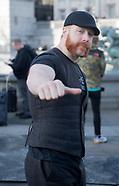 WWE stars Trafalgar Square