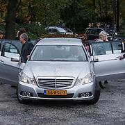 NLD/Leusden/20131107 - Uitvaart Leen Timp, rouwauto