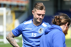 James Clarke of Bristol Rovers inspects the pitch before ki- Mandatory by-line: Arron Gent/JMP - 19/04/2019 - FOOTBALL - Cherry Red Records Stadium - Kingston upon Thames, England - AFC Wimbledon v Bristol Rovers - Sky Bet League One