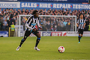 Gael Bigirimana during the Pre-Season Friendly match between York City and Newcastle United at Bootham Crescent, York, England on 29 July 2015. Photo by Simon Davies.