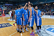 Team Banco di Sardegna Dinamo Sassari<br /> Victoria Libertas VL Pesaro - Banco di Sardegna Dinamo Sassari<br /> Legabasket serie A LBA PosteMobile 2017/2018<br /> Pesaro, 13/01/2018<br /> Foto L.Canu / Ciamillo-Castoria