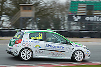 #21 Samuel RANDON Jade Developments during Michelin Clio Cup Series as part of the BARC NW - Championship Raceday  at Oulton Park, Little Budworth, Cheshire, United Kingdom. March 19 2016. World Copyright Peter Taylor/PSP. Copy of publication required for printed pictures.  Every used picture is fee-liable. http://archive.petertaylor-photographic.co.uk