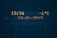 Temperature - 23.01.2015 - Creteil / Laval - 21eme journee de Ligue 2<br /> Photo : Dave Winter / Icon Sport