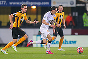 Manchester United's Angel Di Maria during the The FA Cup match between Cambridge United and Manchester United at the R Costings Abbey Stadium, Cambridge, England on 23 January 2015. Photo by Phil Duncan.