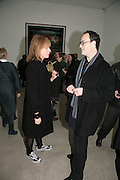 julia Peyton-Jones and Matthew Marks, Andreas Gursky.White Cube, Mason's Yard. London. 22 March 2007.   -DO NOT ARCHIVE-© Copyright Photograph by Dafydd Jones. 248 Clapham Rd. London SW9 0PZ. Tel 0207 820 0771. www.dafjones.com.