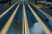 April 22-24, 2016: NHRA 4 Wide Nationals: Funny car dragsters race