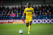 Fred Onyedinma of Wycombe Wanderers during the EFL Sky Bet League 1 match between Rochdale and Wycombe Wanderers at the Crown Oil Arena, Rochdale, England on 28 September 2019.