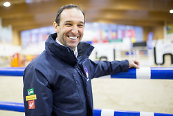 Tomaz Laufer of Slovenia posing after the Equestrian competition  FEI Grand Prix World Cup Celje 2014, on November 30, 2014 in Equestrian Centre Celje, Slovenia. Photo by Vid Ponikvar / Sportida