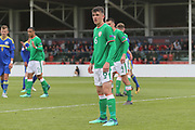 Jason Knight of Republic of Ireland (6) during the UEFA European Under 17 Championship 2018 match between Bosnia and Republic of Ireland at Stadion Bilino Polje, Zenica, Bosnia and Herzegovina on 11 May 2018. Picture by Mick Haynes.