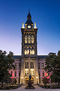 Erie County Hall, architect Andrew Jackson Warner, Buffalo, New York, USA.