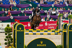 Barrios Pablo (VEN) - Quick Star<br /> Rolex FEI World Cup Final Jumping Leipzig 2011<br /> © Dirk Caremans