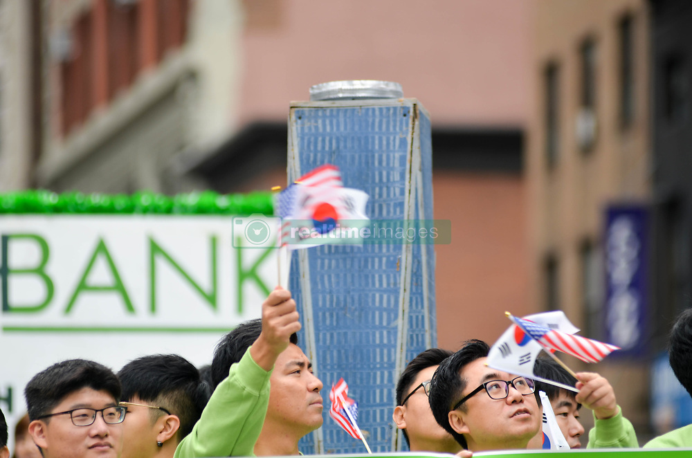 October 6, 2018 - Manhattan, NY, United States - Korean Day Parade on 6th Avenue between 34th Street to 27th Street in Manhattan. (Credit Image: © Ryan Rahman/Pacific Press via ZUMA Wire)