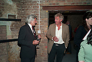 JONATHAN MERMAGEM; COUNT LEOPOLD VON BISMARCK, Early launch of Rupert's. Robin Birley  new premises in Shepherd Market. 6 Hertford St. London. 10 June 2010. .-DO NOT ARCHIVE-© Copyright Photograph by Dafydd Jones. 248 Clapham Rd. London SW9 0PZ. Tel 0207 820 0771. www.dafjones.com.