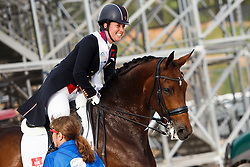 Dujardin Charlotte, GBR, Mount St John Freestyle<br /> Tryon - FEI World Equestrian Games™ 2018<br /> Impressionen Abreiteplatz<br /> Grand Prix Special Einzelentscheidung<br /> 14. September 2018<br /> © www.sportfotos-lafrentz.de/Sharon Vandeput