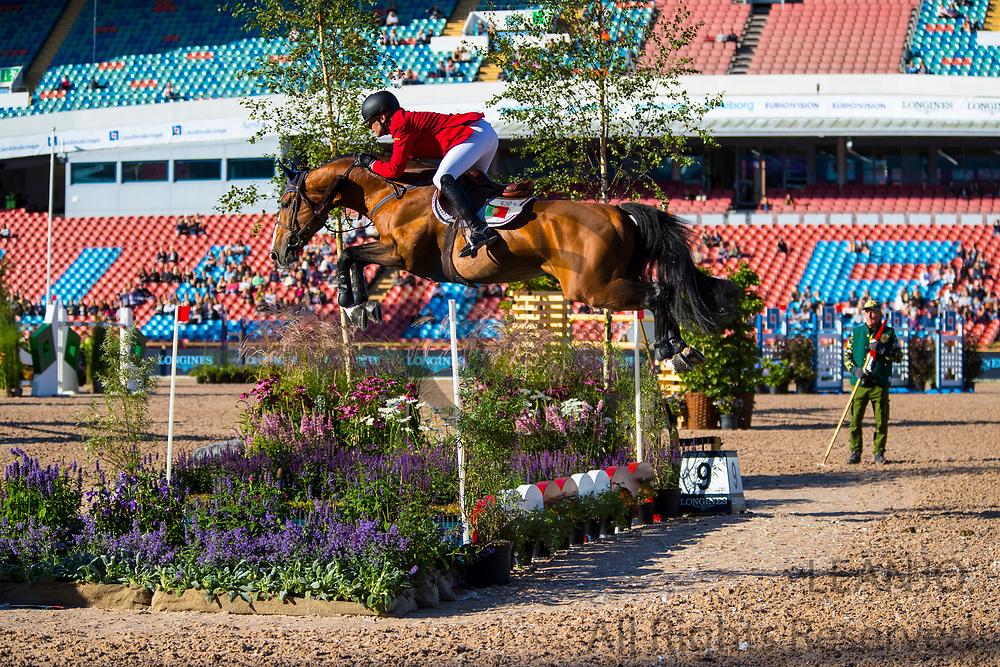 Antonio Matos Almeida - Epicor da Gandarinha<br /> FEI European Championships Gothenburg 2017<br /> &copy; DigiShots
