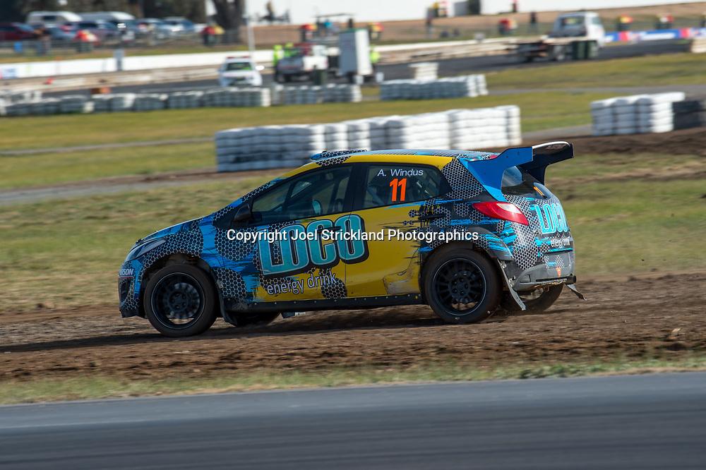 Arron Windus, Mazda 2 - Rallycross Australia - Winton Raceway - 16th July 2017