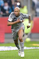 Andre Ayew - 22.03.2015 - Lens / Marseille - 30eme journee de Ligue 1 <br /> Photo : Andre Ferreira / Icon Sport