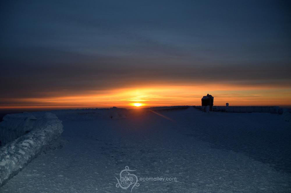Sunrise on Mount Washington, 2010
