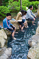 Takayama Foot Bath - Footbaths are all the rage in Japan often placed in front of railway stations in hot spring towns to give tired travelers a rest from their foot-crunching sightseeing schedules.