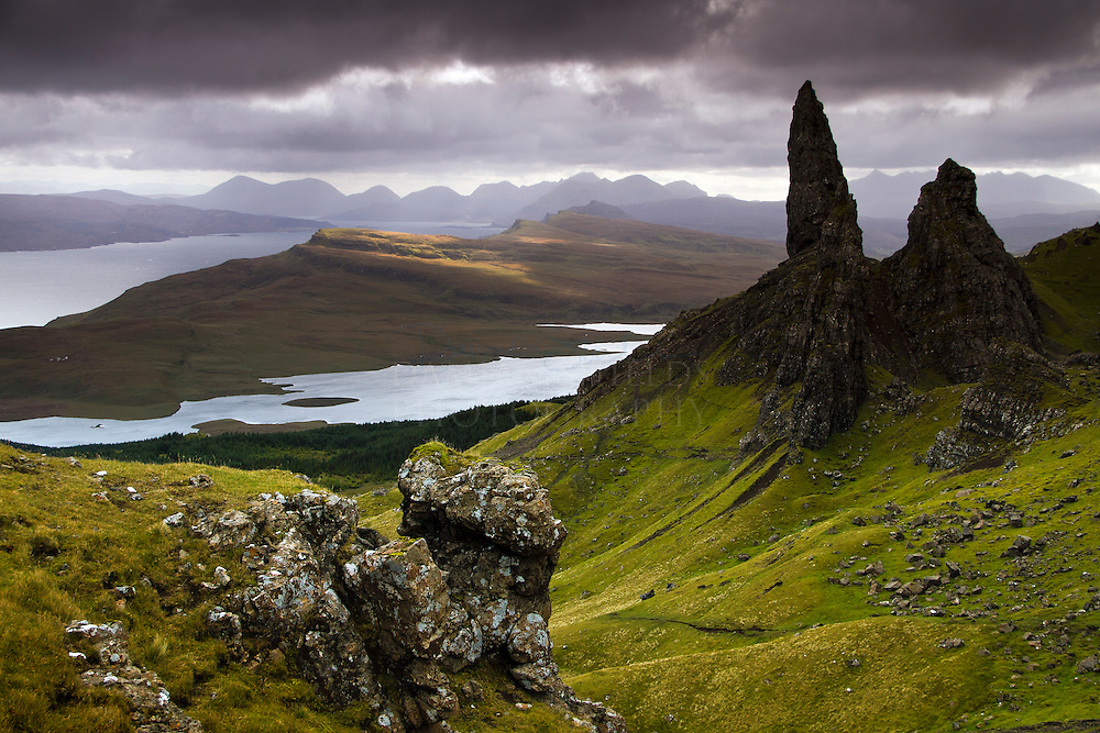 HONORABLE MENTION - International photography awards <br /> <br /> Looking over the old man of Storr to Applecross, Isle of Skye