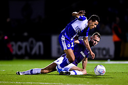Tyler Smith of Bristol Rovers is challenged by George Ray of Tranmere Rovers - Mandatory by-line: Ryan Hiscott/JMP - 20/08/2019 - FOOTBALL - Memorial Stadium - Bristol, England - Bristol Rovers v Tranmere Rovers - Sky Bet League One